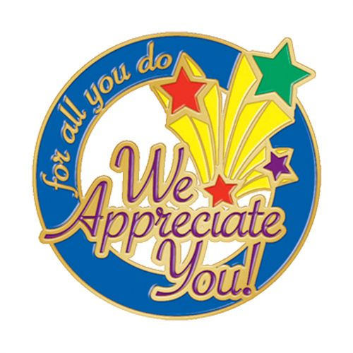 We appreciate you for all you do