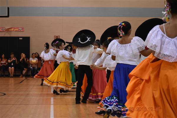 Veterans' Hill Ballet Folklorico Performers