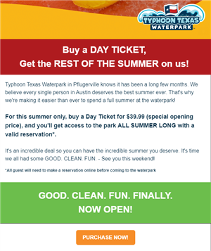 Typhoon Texas discount