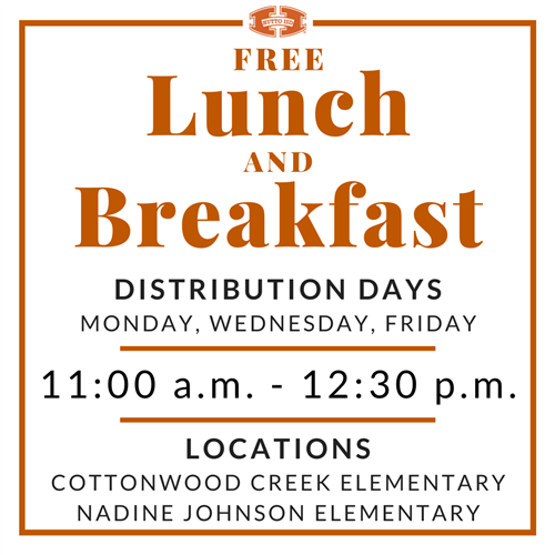 Free Lunch and Breakfast Info