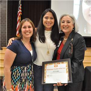 Amy Ybarra, elementary teacher of the year
