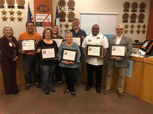 School Board members recognized for National School Board Appreciation Month