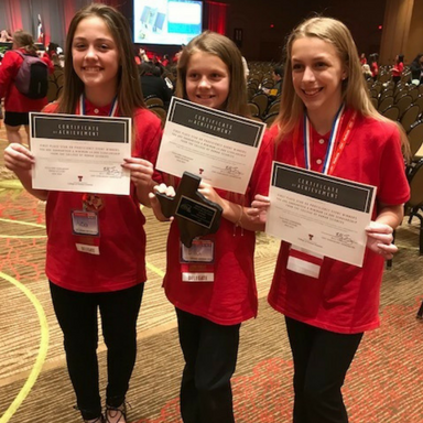 Farley FCCLA Team Brings Home State Title