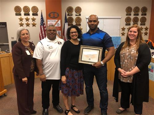 Mentoring Month Recognition Honoree Eric Johnson