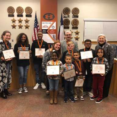 Hippos and Staff of the Month Introduced at November Board Meeting