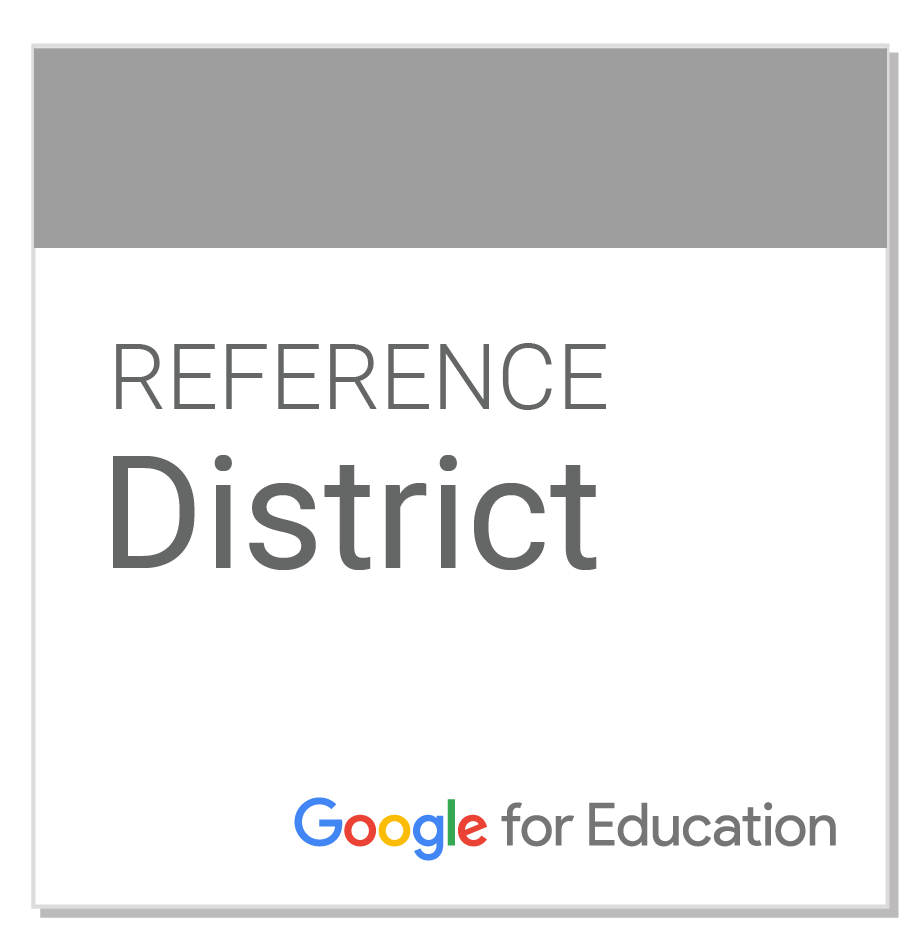 badge for Google Reference District