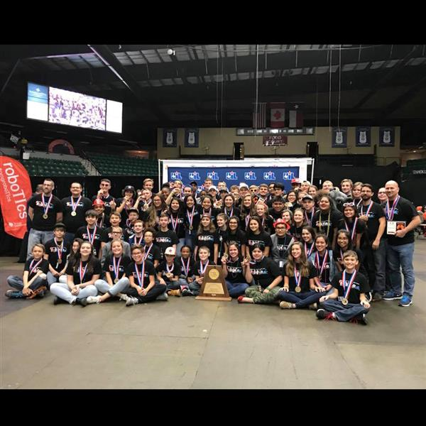 Hippos Earn State UIL Robotics Championship