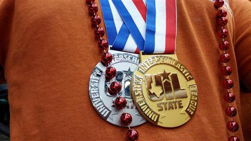 State UIL medals