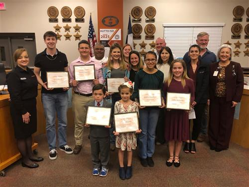 HEF Student Grant Winners
