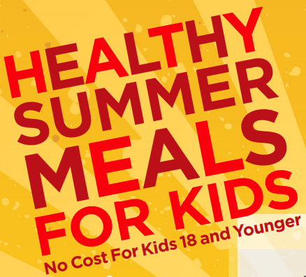 Free Summer Meals for 18 and Younger