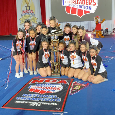 HHS Cheer Earns National Championship!