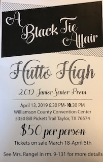 HHS 2019 Junior Senior Prom